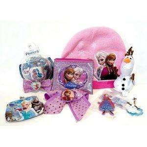 Disney Frozen Lot Princess Elsa Anna Olaf Ty